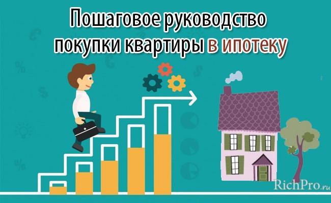 Покупка квартиры: как купить квартиру (в ипотеку, на мат капитал, в рассрочку) - пошаговая инструкция