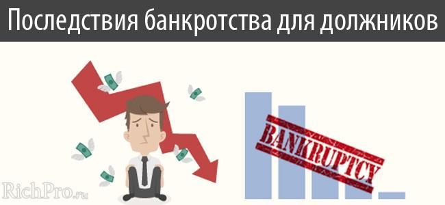 Банкротство физических лиц и ИП - пошаговая инструкция + последствия для должника