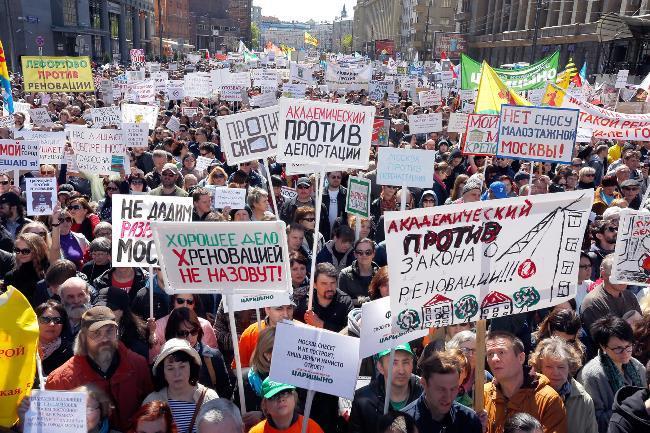 Москвичи против реновации – почему протестуют столичные жители?