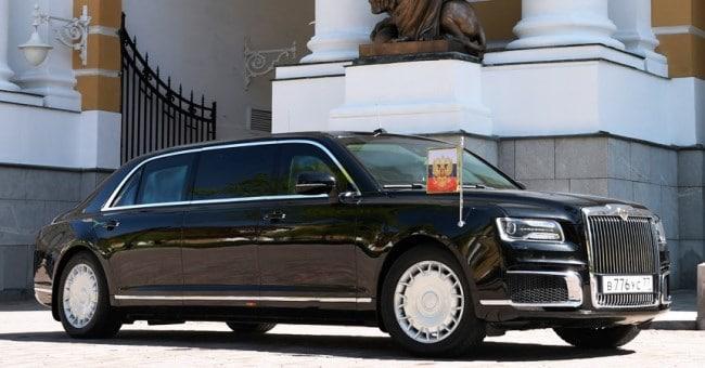 Российский лимузин Aurus: как выглядит, сколько стоит