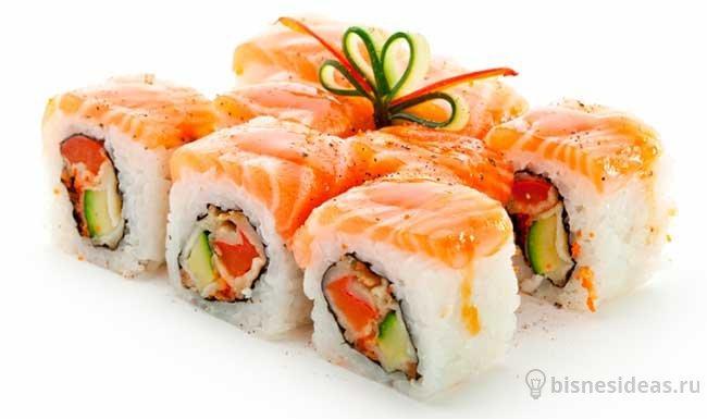Бизнес план открытия суши бара с нуля