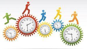 Как рассчитать количество отработанных человеко часы по формуле?