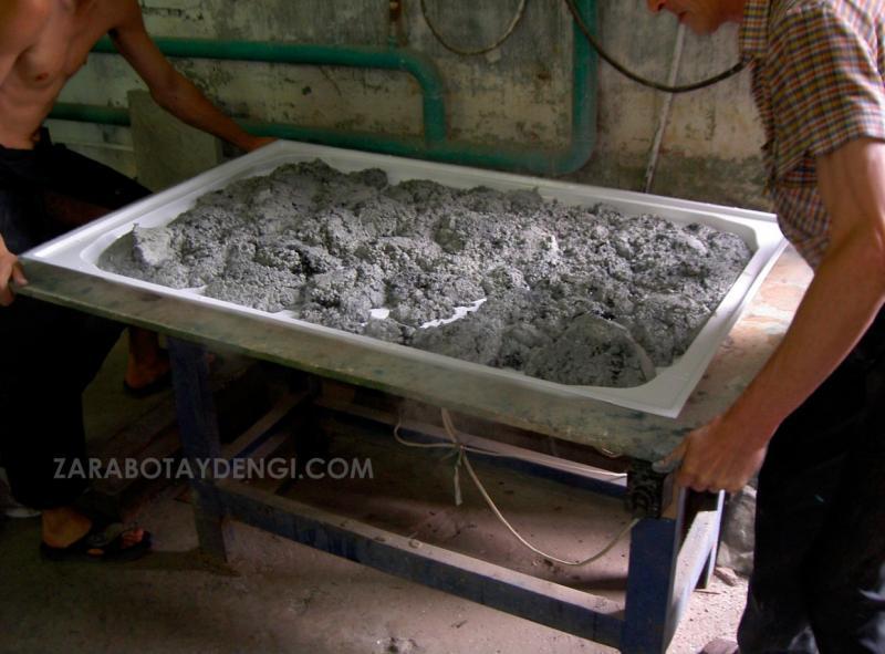 Как заработать на производстве изделий из декоративного бетона