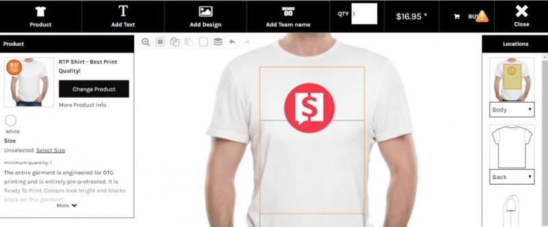 Как заработать на футболках: 24 сайта для создания и продажи дизайнерских футболок