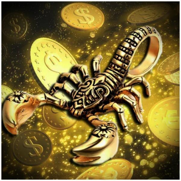 Скорпион и финансы