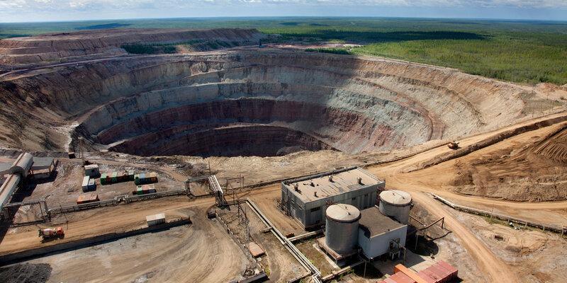 «Алроса» с начала 2020 года добыла 8 млн карат алмазов