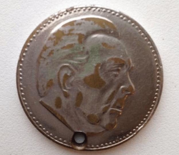 Неизвестный советский рубль с Л.И.Брежневым или...
