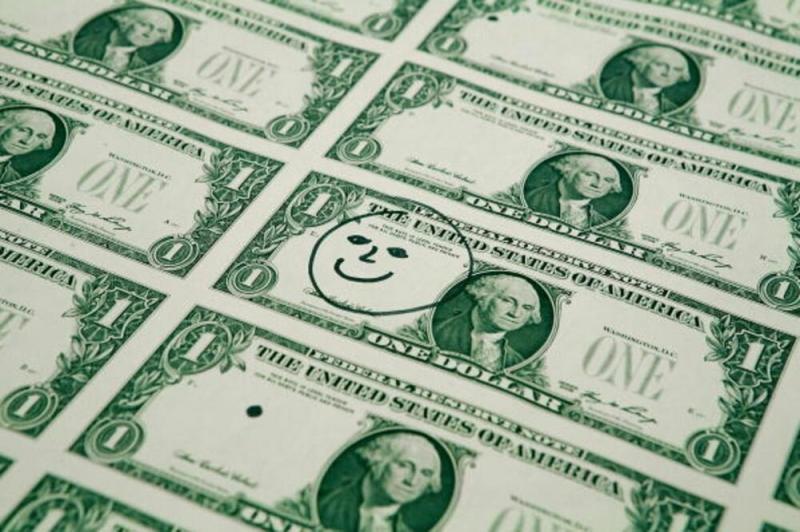 Падение доллара