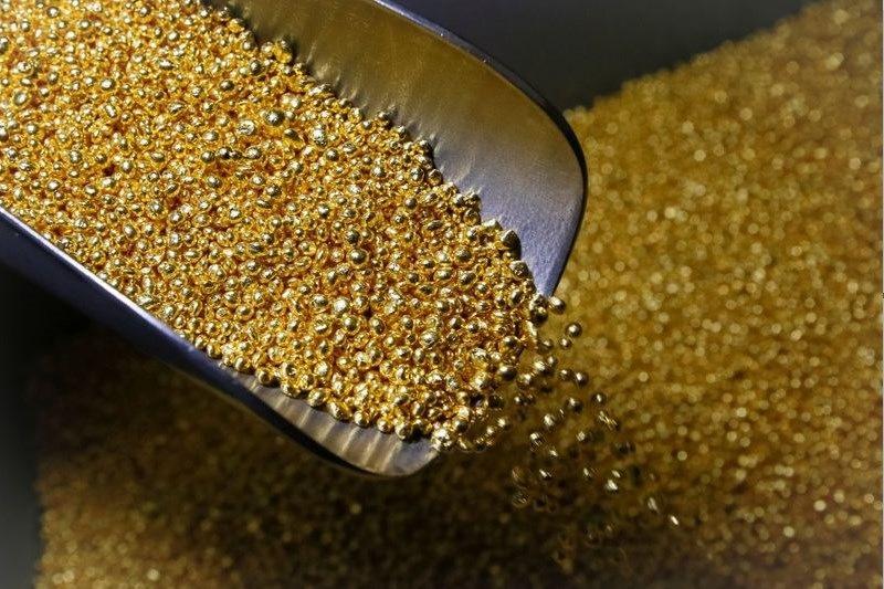 Фьючерсы на золото упали во время азиатских торгов