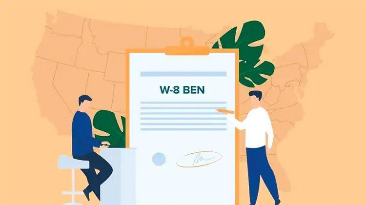 Для чего нужна форма W-8BEN.